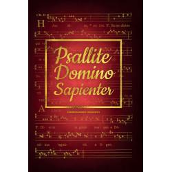 PSALLITE DOMINO SAPIENTER - akompaniament organowy