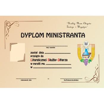 Dyplom ministranta